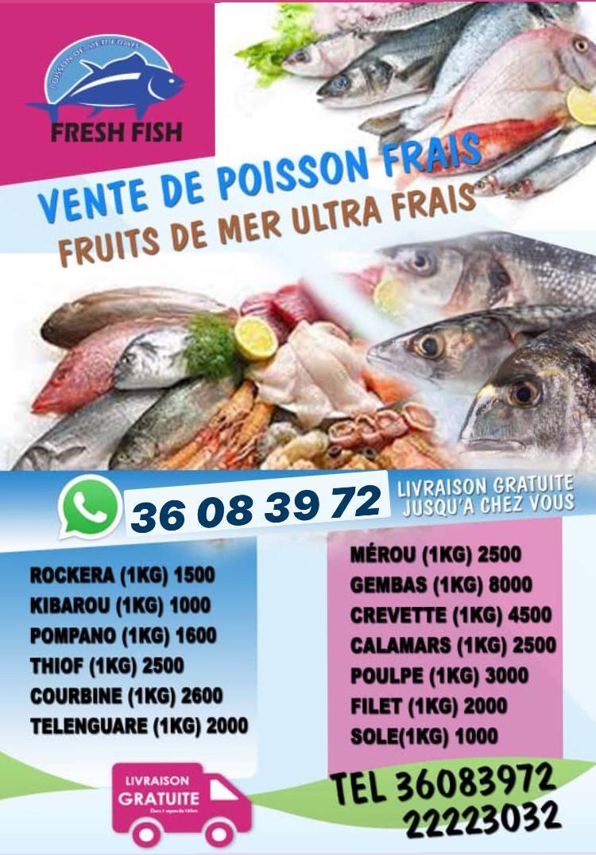 Fresh-fish : livraison de poisson à domicile  Courrier du Nord