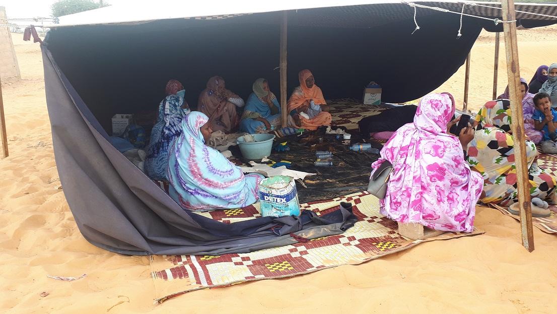 les femmes de la coopérative Rahma de Bouteydouma